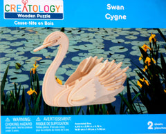 CREATOLOGY Wooden Puzzle - Swan