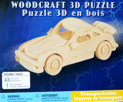 CREATOLOGY Wooden Puzzle - Car