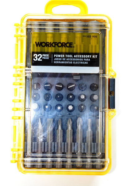 Power Tool Accessory Kit By WORKFORCE