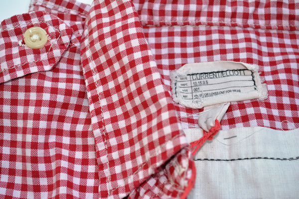 Women's Casual Checkered Shirt by Current / Elliott