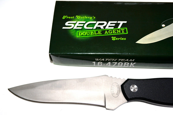 "Hunting Knife 9.5"" with Fixed Stainless Steel Blade By Frost USA."