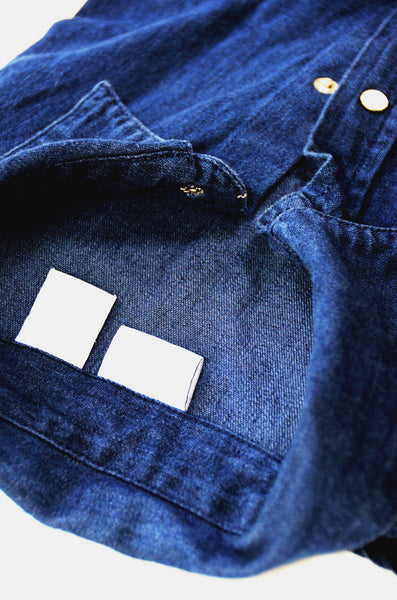 Men's Casual Jean Shirt