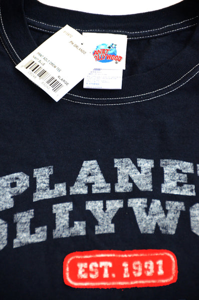 Planet Hollywood Adult Crew Tee Shirt