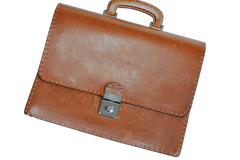 Men's 100% Leather Briefcase
