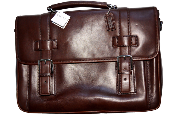 Men's Coach Brief in Leather # 5_ _ _