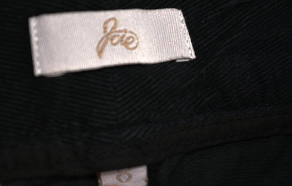 Women's Black Corduroy Pants by Joie