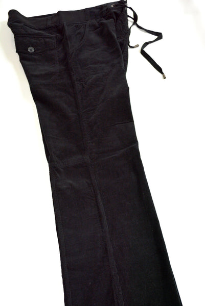 Women's Black Corduroy Pants by Joie. Size 8, Caviar Black & 100% Cotton.