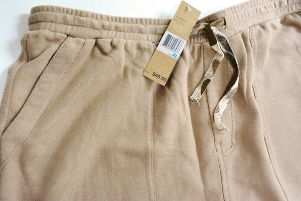 Men's Knitted Shorts by DKNY, 100% Cotton, Size XL.