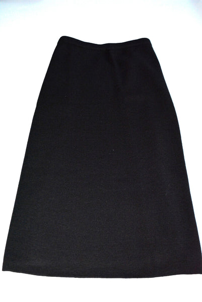 Women's Black Knit Skirt by Adrianna Papell