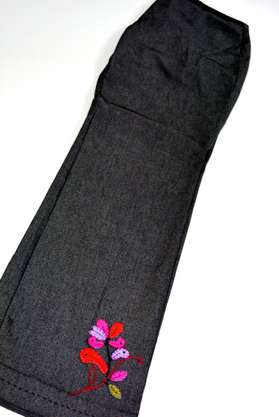 Women's Black Sport Pants by SIGRID OLSEN