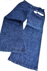 Women's Blue Jean Pants by byblos, Size 29, Blue, Cotton.