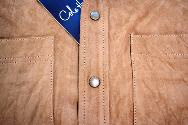 Men's Leather Coat by Cole Haan