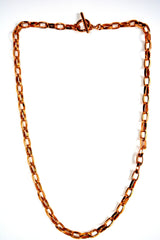 "Custom Golden Color 29"" Chain Necklace"