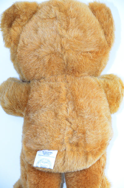 "10"" Vintage Soft Stuffed Toy - Bear"