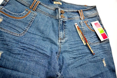 Junior's Plus Size Jean Shorts