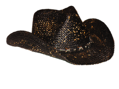 Men's Black Cowboy Hat By Peter Grimm