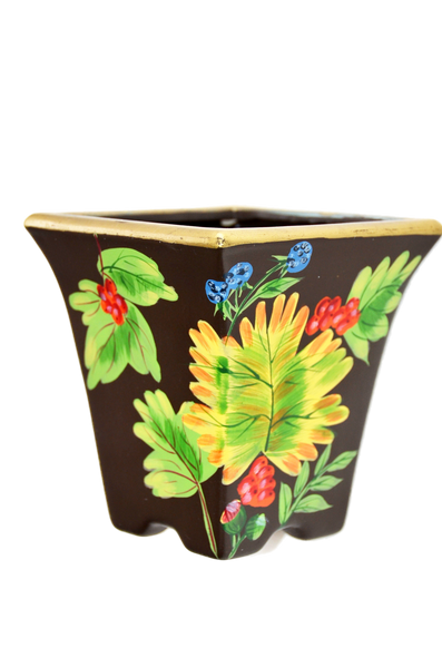 "7"" Porcelain Flower Pot"