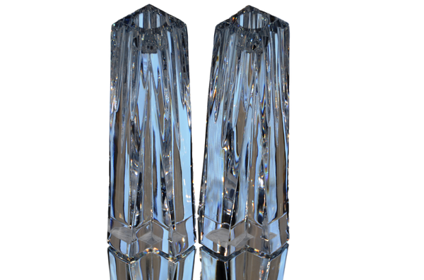 Crosswinds Crystal Candle Holders by Ovations