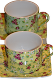 Classic Coffee & Tea Set (Pair)
