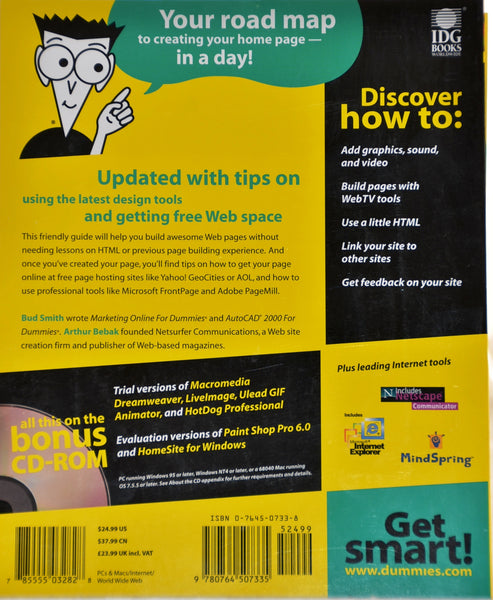 Creating Web Pages for Dummies, 5th Edition