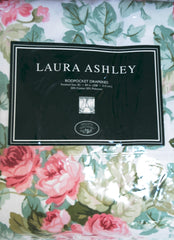 LAURA ASHLEY Rod Pocket Draperies
