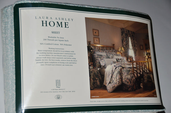 LAURA ASHLEY - King Sheet Set