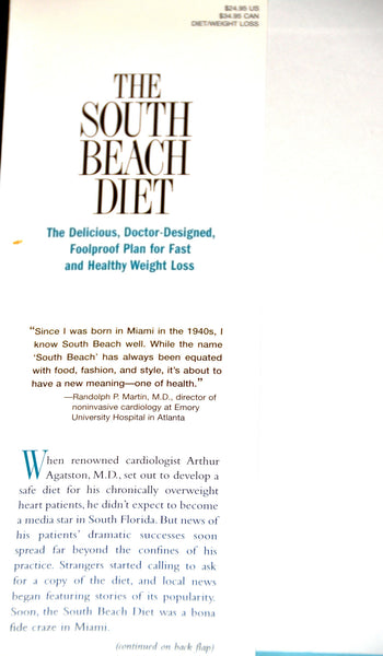 South Beach Diet by Dr. Arthur Agatston