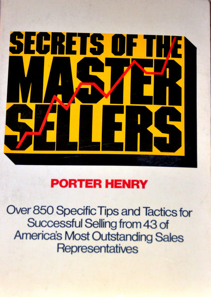 Secrets Of The Master Sellers