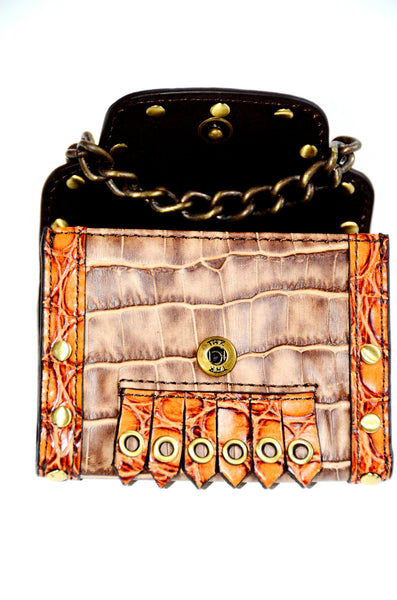 Women's Leather Coin Wallet by Rafi, NY