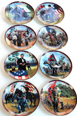 The American Civil War Decorative Plates