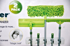 Broom & Mop Organizer - Magic Holder