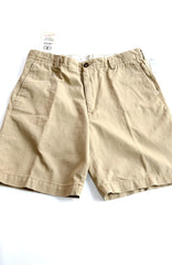 Men's Short by IZOD, Weathered Twill, 100% Cotton, Size 34.