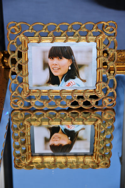 "Golden Color Picture Frame - 10"" x 8.5"""