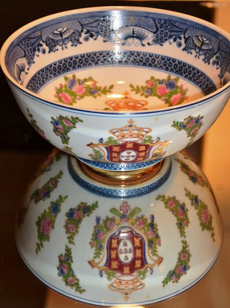 "10"" Chinese Porcelain Bowl"