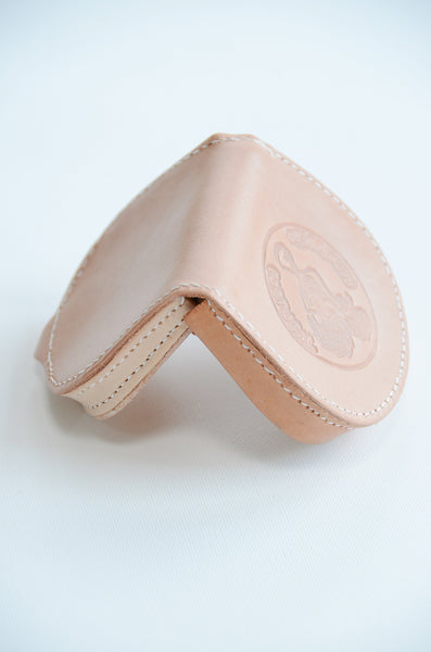 Leather Coin Wallet by Recordacad