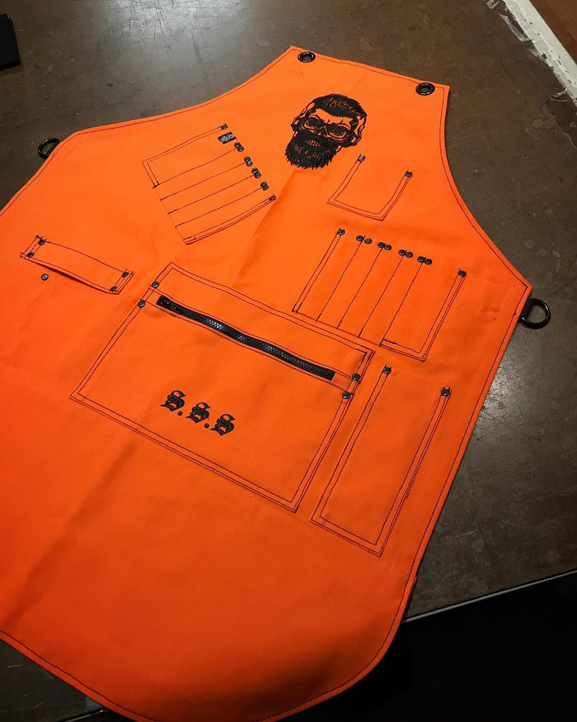 Custom apron for Alexander Savossin