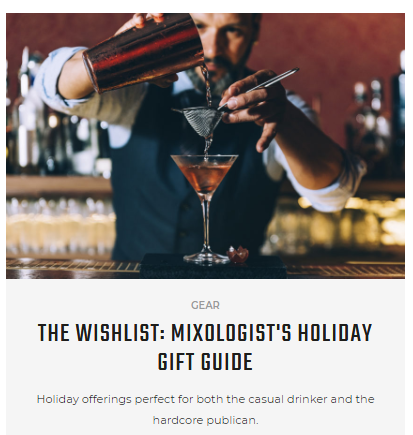 HiConsumption Mixologist Gift Guide