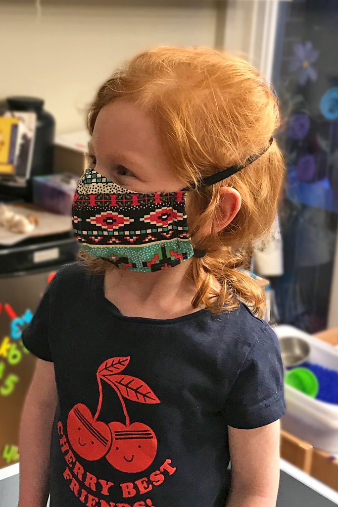 Kids' face mask