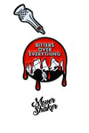 Mover & Shaker Pin - Bitters Over Everything Set
