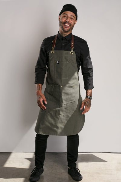 Canvas Barista Apron