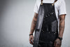 Leather & Canvas Barber-Stylist Apron