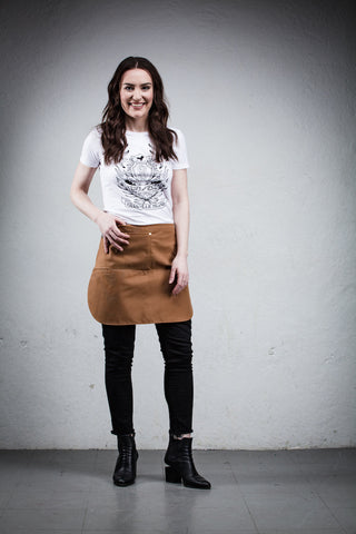 Better Bistro Apron - Tan Brown - Thigh Length