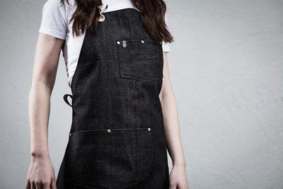 Utility Apron - Charcoal Denim