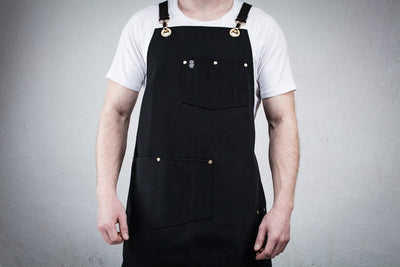 Utility Apron - Black Canvas
