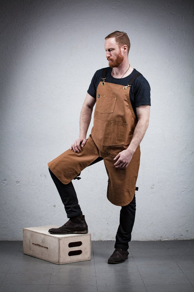 Classic Canvas Split Leg Apron