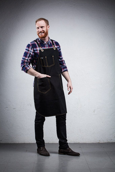 Craftsperson Apron - Black Canvas
