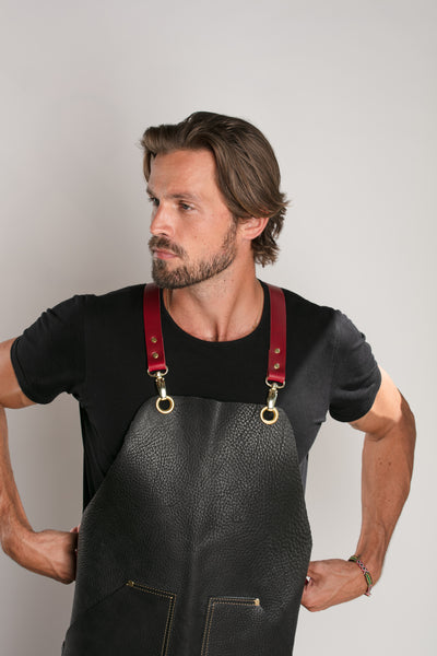 Bull Leather Industrial Arts Apron