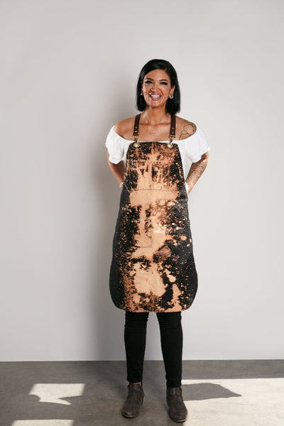 LIMITED EDITION ACID BURN APRON - Black Canvas