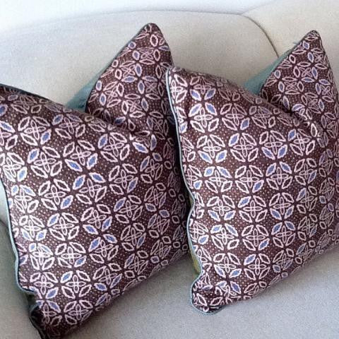 Pinwheel Olive Pillow