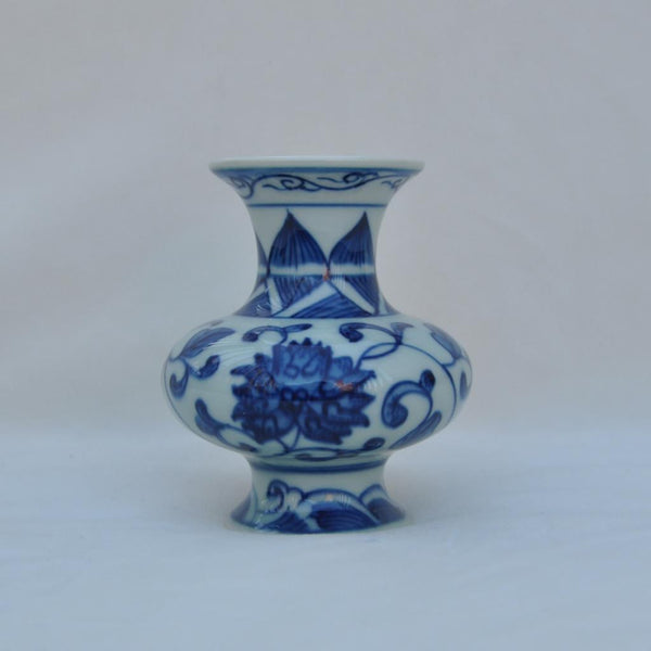 Blue and White Placesetting Vase VI